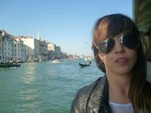 Venecia. En el vaporetto.