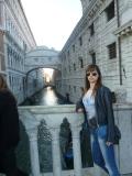 Venecia. En el fondo el puente de los suspiros.