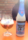 Cerveza Delirium.