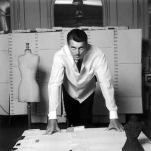 PARIS, FRANCE - 1960: French designer Hubert de Givenchy, 1960 in Paris, France.