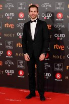 Actor Marc Clotet at photocall during the 32th annual Goya Film Awards in Madrid, on Saturday 3rd February, 2018.